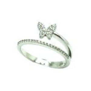 925 STERLING SILVER BUTTERFLY DAINTY RING